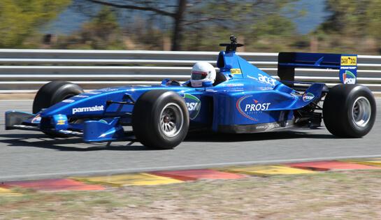 Formule 1 zelfrijden