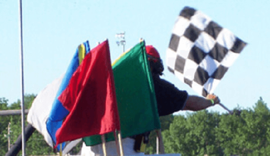vlaggen in de f1